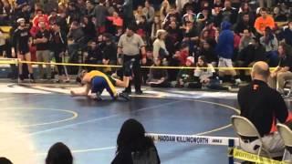 Greg Chase-Patrick - Seymour Wrestling - Senior Season 37 wins