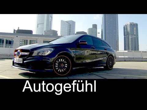 2016 New Mercedes CLA 45 AMG 4MATIC Shooting Brake PREVIEW sound, exterior, interior, colours