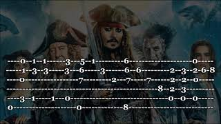 Pirates Of The Caribbean - Fingerstyle Guitar Tab