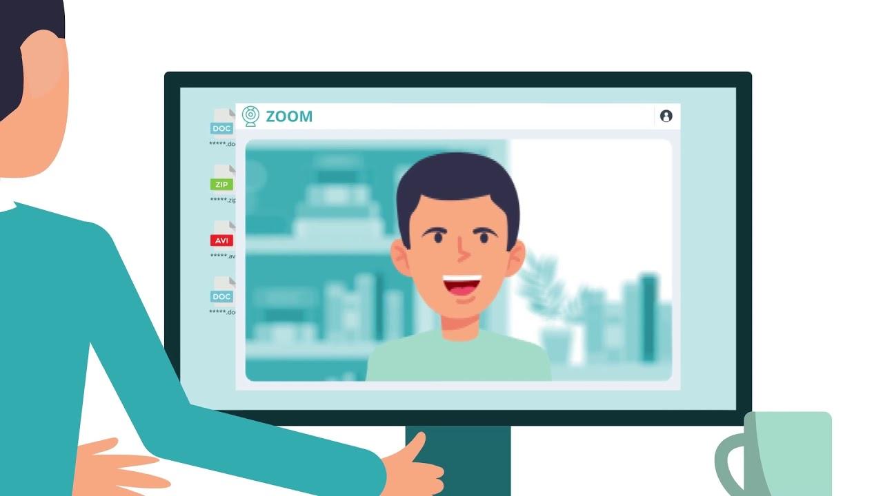 Криптомайнер в приложении для видеоконференций zoom