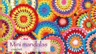 Mandala Tejida A Crochet Paso A Paso!