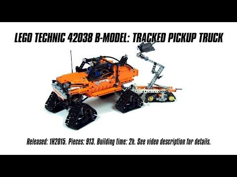 Vidéo LEGO Technic 42038 : Arctic Truck