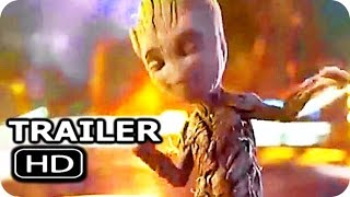 GUARDIANS OF THE GALAXY 2 Dancing Baby Groot Trailer 2017 Chris Pratt Action Movie HD