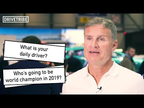 Image: David Coulthard reveals the story behind his lucky underpants!