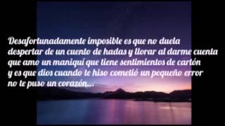 Remmy Valenzuela -  Sentimientos de Cartón (LETRA)
