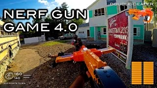 Nerf meets Call of Duty: Gun Game 4.0 | First Person on Nuketown in 4K!