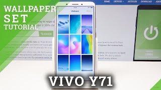 vivo y71 lock screen wallpaper settings - मुफ्त