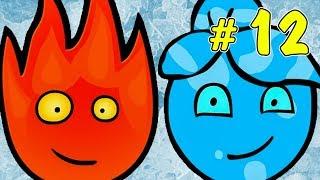 ПРИКЛЮЧЕНИЯ ОГОНЬ и ВОДА в ледяном храме #3. Развлекательное видео для детей на Игрули TV