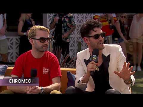 Chromeo w/A-Trak Interview - Coachella 2018