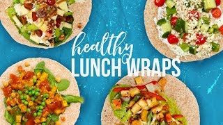 5 Healthy LUNCH WRAPS | Back-To-School 2017