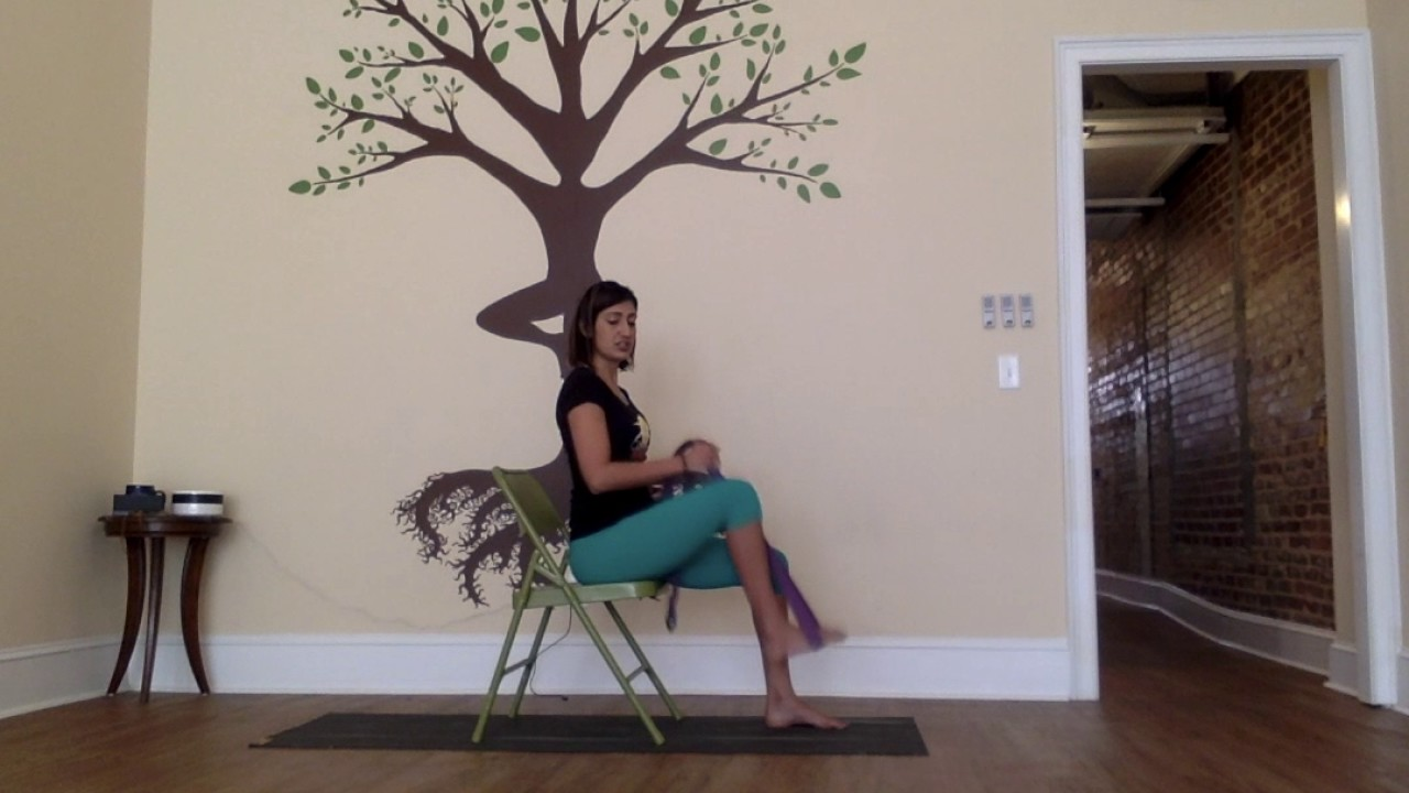 5 Poses: Week 3 - Seated Chair sequence!