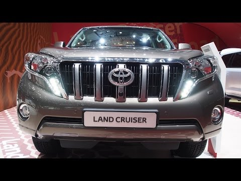 2014 Toyota Land Cruiser Prado 150 - Exterior and Interior Walkaround - Geneva Motor Show 2014