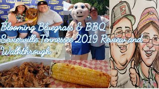 Blooming' Bluegrass & BBQ Festival Sevierville Tennessee 2019 Review and Walkthrough