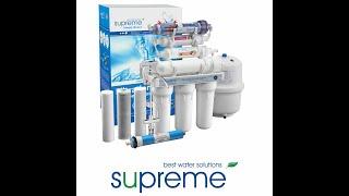 Videoinstallationsanleitung Sieben-Stufen-Umkehrosmoseanlage Supreme RO7