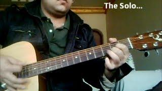 Learn 'Ehsaas' [Atif Aslam] Easy and Original Guitar Chords+Solo [Lesson/Tutorial]