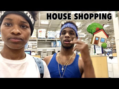 WE WENT SHOPPING FOR THE HOUSE!!!