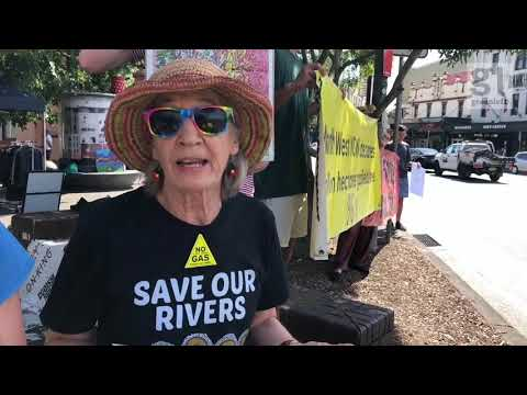 Protect Our Future Not Gas – Newtown action