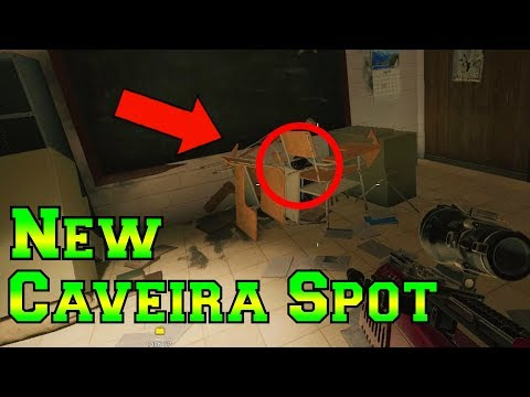 NEW AWESOME Caveira Hiding Spot - Rainbow Six Siege