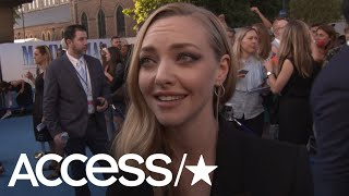 Amanda Seyfried: Why Reuniting With Ex Dominic Cooper For 'Mamma Mia 2' Was A Total Blast   Access