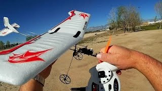 HF 120 Featherweight RC RTF Airplane Flight Test Review
