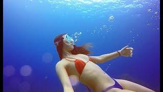 綠島自由潛水帶外國朋友體驗熱情南台灣 Freediving Green Island Taiwan Clearest Water In Asia