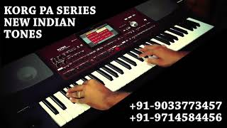 Korg Pa700 updated indian styles and multipads indepth demo