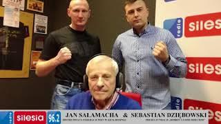 Radio Silesia - Wywiad : Jan Sałamacha , Sebastian Dziębowski