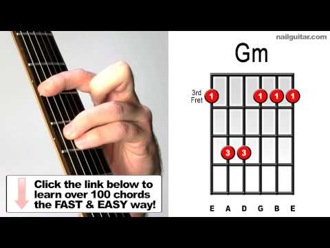 G Minor - Guitar Chord Lesson