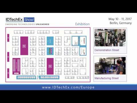 Brief Video Tour of the IDTechEx Show! Berlin 10 - 11 May 2017