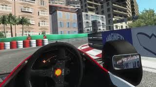 rFactor 2 [VR] McLaren MP4/8 in Monaco
