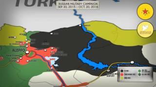 Военная операция России в Сирии. 30 сентября 2015 - 20 октября 2016. Русский перевод.