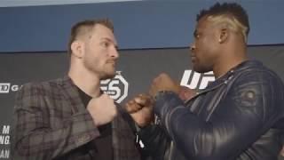 UFC 220: Media Day Faceoffs