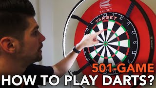 HOW TO PLAY DARTS? - 501-Game 🎯