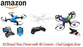10 Brand New Drone with 4k Camera | For Adults and Kids | Amazon | Cool Gadgets Zone