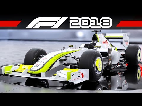 F1 2018 Brawn BGP 001 + BMW Williams FW25 | CLASSIC CAR TRAILER | Formel 1 2018 Vorbesteller-Autos