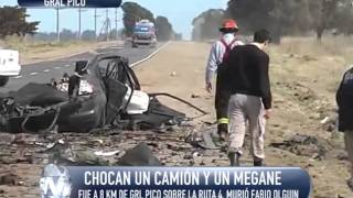 Fatal accidente en la Ruta 4
