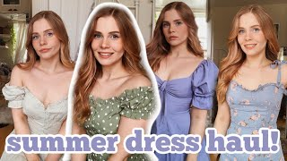 Summer Dress Haul 2020! 🌸 Urban Outfitters, H&M, NastyGal
