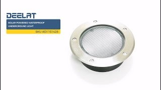 Solar-Powered Waterproof Underground Light     SKU #D1151428