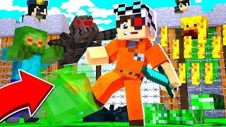 НОВАЯ ТЮРЬМА! ТЮРЕМЩИКИ ПРОВОДЯТ ЭКСПЕРИМЕНТЫ КАК ДОЛГО Я СМОГУ ВЫЖИВАТЬ! Minecraft Prison