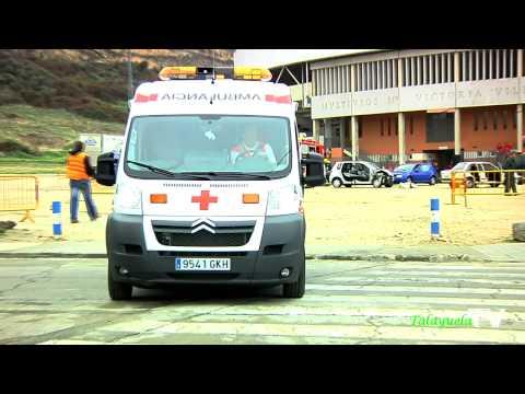 I Simulacro de Cruz Roja en Navalmoral