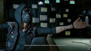 All Wrench cutscenes / cinematics PART 1 - WATCH DOGS 2