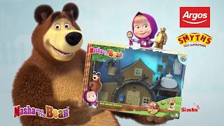 Masha and the Bear – Big Bear House Playset!