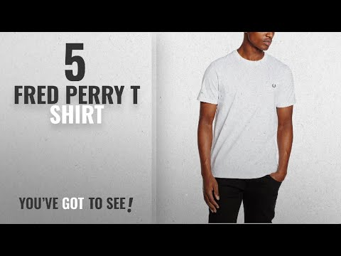 Top 10 Fred Perry T Shirt [2018]: Fred Perry Men's Crew Neck T-Shirt