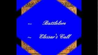 Battlelore - Elessar's Call   (Lyrics)