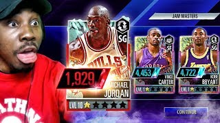 PULLING MICHAEL JORDAN IN *NEW* JAM MASTERS PACK OPENING! NBA 2K Mobile Gameplay Ep. 21
