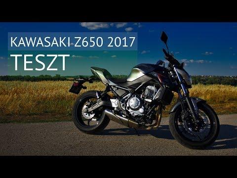 Vagány mindentudó | Kawasaki Z650 ABS 2017 - teszt letöltés
