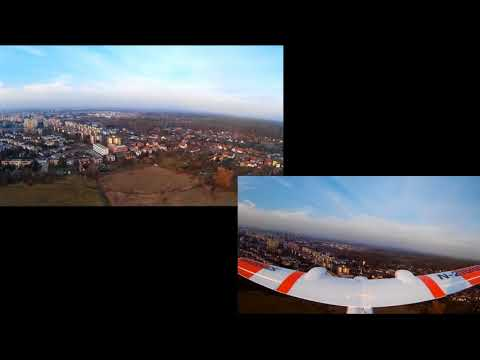 test-flight-2-multiplex-twinstar--gimbal-quanum-q2d-windy-weather
