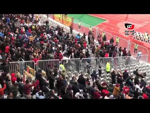 رد فعل جماهير الأهلي عقب هدف «معلول» في مرمى «فيتا كلوب»
