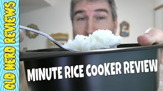 Minute Microwave Rice Cooker REVIEW | Rapid Brands Rapid Rice Cooker 🍚