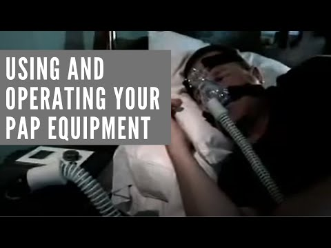 Image of Philips Respironics - CPAP Operation video